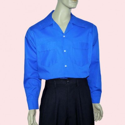 Gab Shirt Royal Blue