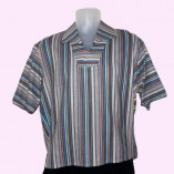 Jerry Lee Blue Multicolour Stripe