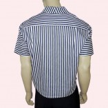 Jerry Lee Narrow Blue Stripe back