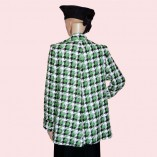 Swing Coat Green Check back