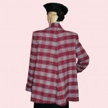 Swing Coat Red Check back