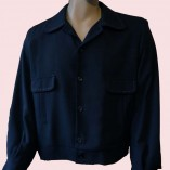 Gab Jacket Button Black