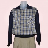Gaucho Navy with Blue & Cream Check