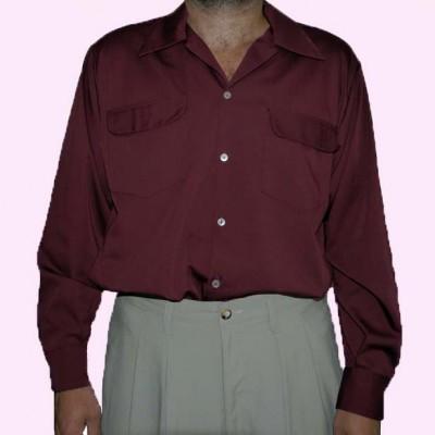 Gab Shirt Maroon