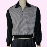 Gaucho Black with Dogtooth