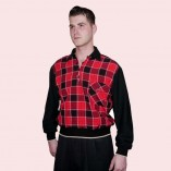 Gaucho Black with Red & Black Check