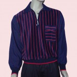 Gaucho Navy with Navy & Red Stripe