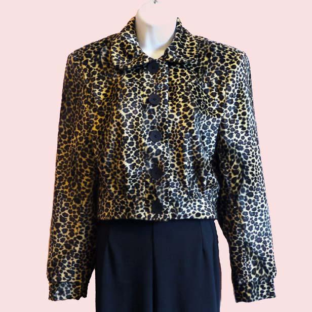 jackets lana buttoned jacket la riviera lana jacket leopard print
