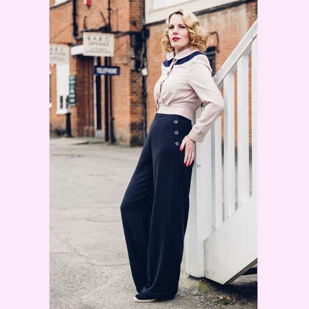La Riviera Womens Swing Trousers – Darker Shades | Morellos
