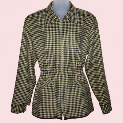 Ski Jacket Houndstooth