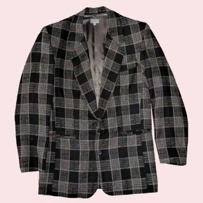 Box Jacket Black Check
