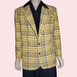 Box Jacket Yellow Check
