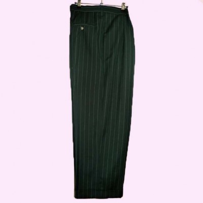 Mens Bags Green Pinstripe Bags full length