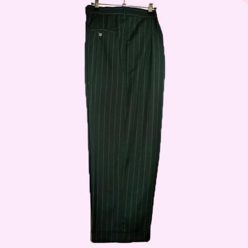 Mens Bags Green Pinstripe Bags full length