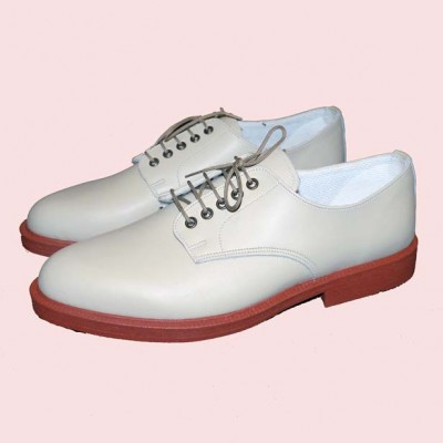 Terry Smith Leather Shoes Putty Side