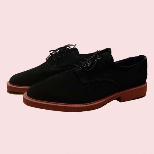 Terry Smith Suede Black Side