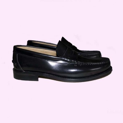 Loafers Black Side View