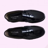 Loafers Black Top View