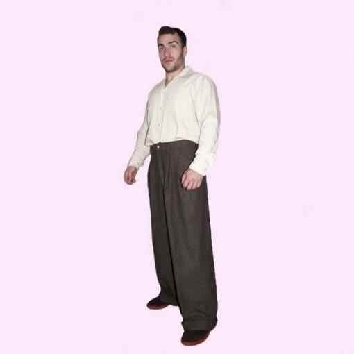 Mens Bags Brown Tweed