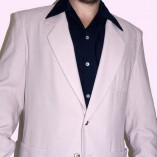 Box Jacket Pale Pink close up