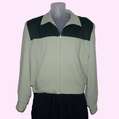 Gab Jacket Two Tone Pistachio & Green Cord