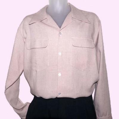 Gab Shirt Pink Fleck
