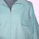 Gab Jacket Mint Cord close up