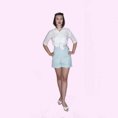 Mint Shorts Front