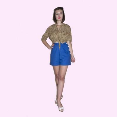 Royal Blue Shorts front
