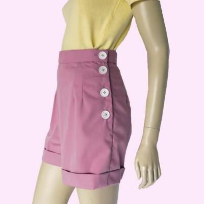 Pink Shorts Side