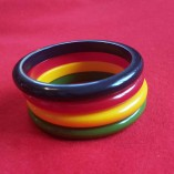 Deana fakelite thin bangles multicolour 1