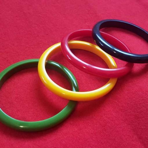 Deana fakelite thin bangles multicolour