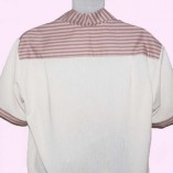 Jerry Lee Cream and Pink Stripe Back