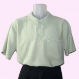 Mens Pointed Collar shirt Pistachio