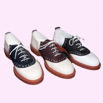 Mens Saddle Shoes