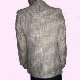 Box Jacket Beige Boucle back