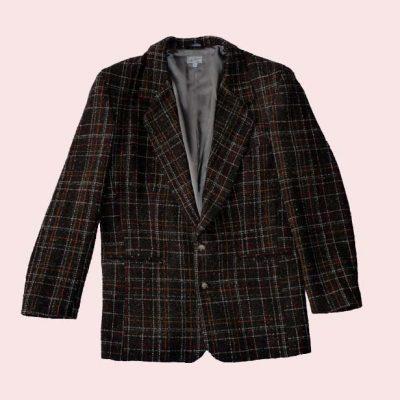 Box Jacket Brown Check
