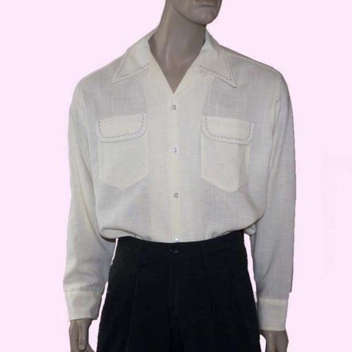 gab-shirt-cream-slub-stitched