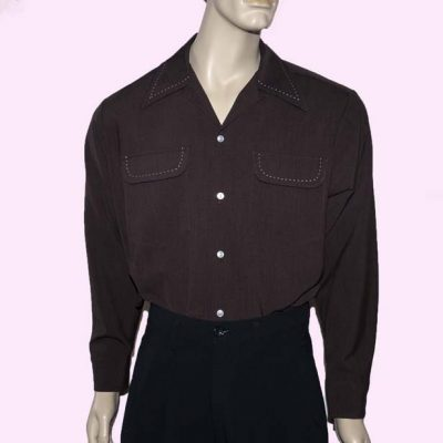 gab-shirt-dark-brown-with-stitching