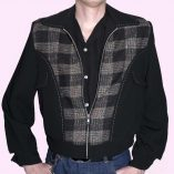 Gab Jacket Blade Black & Multicolour Check