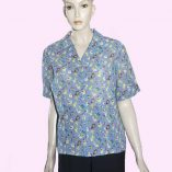 Layla Blouse Pansies