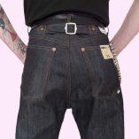 Mens US Deck Pants back close up