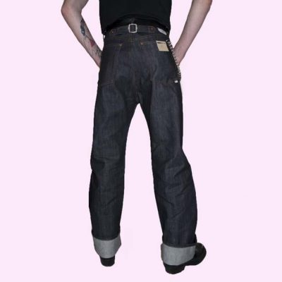Mens US Deck Pants back legs