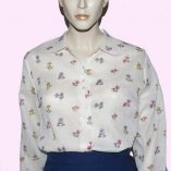 Womens blouse floral 1