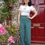 Womens Trousers Green