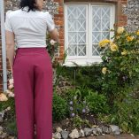 Womens Trousers Mulberry back