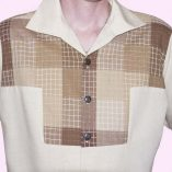 Gaucho Beige & Brown Check close