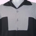 Gaucho Black and Dogtooth close