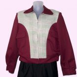 Gab Jacket Blade Red and Green Check