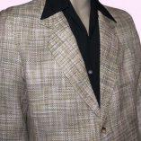 Box Jacket Beige Boucle Top